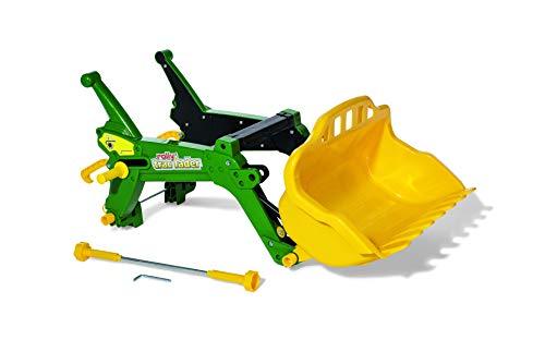 Rolly Toys rollyTrac Lader Premium (Frontlader grün, für Kinder von 3-10 Jahre, Zubehör für Kindertraktoren) 408955