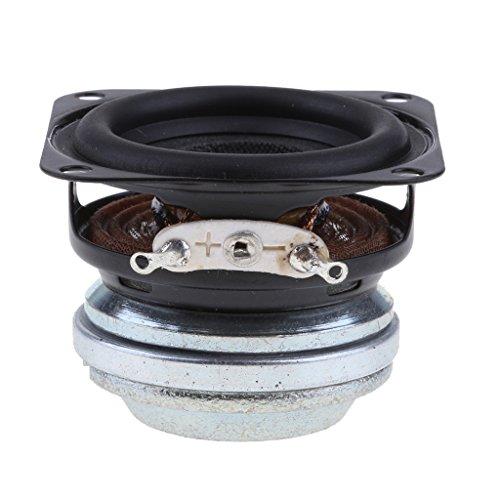 MagiDeal Woofer de Haut-Parleur Enceinte Caoutchouc SoundBox Vintage 16coil Bord Electronique