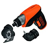 Black + Decker CS3652LCCT +amp;-QW Akku-Schraubendreher, kabellos, lithium-Batterie, 3,6 V
