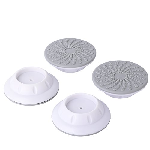 4 Pcs/Set Wall Guard for Pressure Gates, Wall Protector for Walk Thru Gates, Protect Door, Stair, Wall Surface, Babies & Pets Safety. (White)