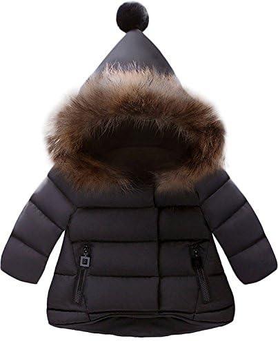 Jojobaby Baby Boys Girls Hooded Snowsuit Winter Warm Fur Collar Hooded Down Windproof Jacket product image