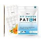 MELK 48 zit cleaning patches with TEA TREE CICA CALENDULA- Acne spot dots/Cystic Acne and blemish treatment for face for Teens and Adults with Pimple Popper