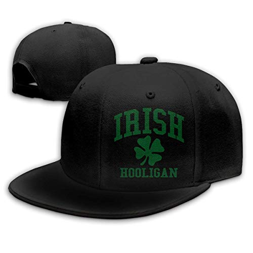 mchmcgm - Mütze Adult Baseball Cap, Irish Hooligan Hip Hop Hats Adjustable Snapback Cap Summer Flat Bottom Hat for Men