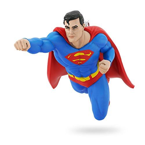 Hallmark Keepsake 2017 JUSTICE LEAGUE SUPERMAN Mini Christmas Ornament