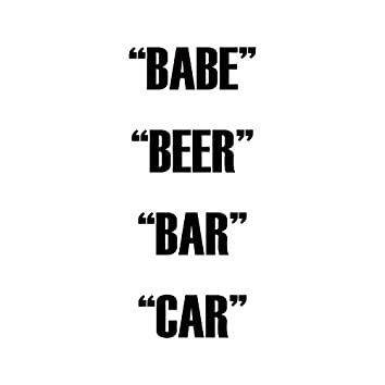 Babe Beer Bar Car