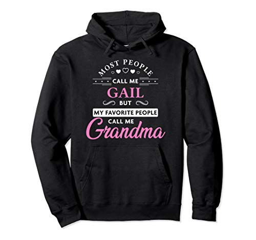 Gail Name Grandma Hoodie Personalized Mothers Day Gift