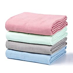 7. Momcozy Baby Swaddle Blankets (4 Pack)