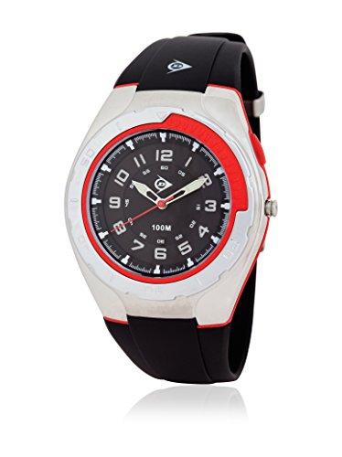 Dunlop Reloj Analógico para Hombre de Automático con Correa en Caucho DUN-197-G01