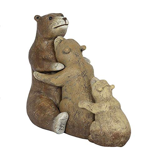 Bear Family Resin Ornament in Gift Box Animal Families Collection