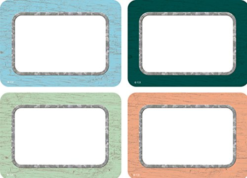 Teacher Created Resources Painted Wood Name Tags/Labels - Multi-Pack (TCR8818)