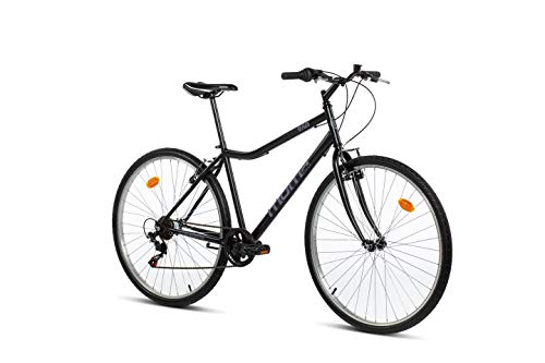 "Moma Bikes Bicicleta Paseo MOD280, 28"", SHIMANO 6V, Frenos V-Brake Aluminio"