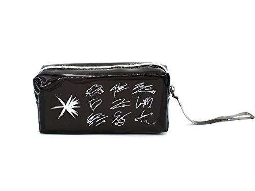 Fanstown EXO Kpop Signature Logo Pencil case with lomo Card (PVC EXO)