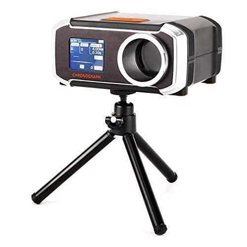 leegoal LCD-Display Chronograph, Airsoft Speed Tester BBS Shooting Chronograph mit Stativ, Verbindung mit Mobile App, Geschwindigkeitstest für BB, Wasserbälle, Bleiperlen und Stahlkugeln