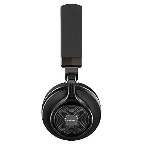 Bluedio T3 (Turbine 3rd) Extra Bass Wireless Bluetooth 4.1 Stereo Headphones(Black)
