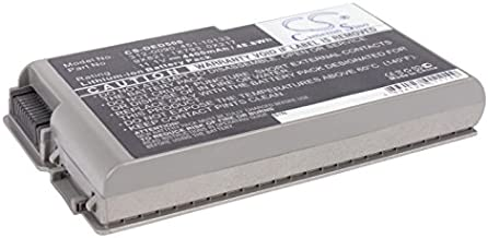 4400mAh Battery for DELL Inspiron 500m, Inspiron 510m, Inspiron 600m, Latitude D500, Latitude D505, Latitude D510, Latitude D520