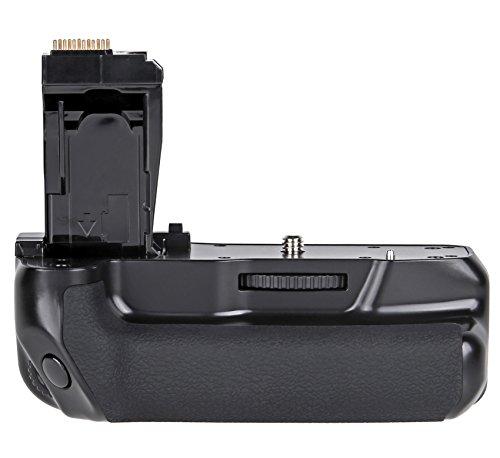 ayex Batteriegriff AX-750D/760D für Canon EOS 760D, 750D, IX8, T6S, T6I (ähnlich wie BG-E18) 100% Kompatibilität - Akkugriff optimal zum fotografieren im Hochformat
