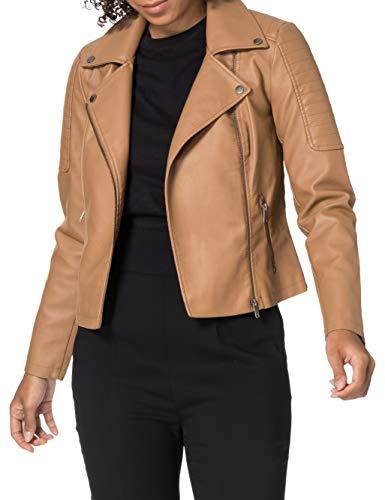 NOISY MAY Nmrebel L/S Jacket Col Chaqueta de cuero sinttico Mujer