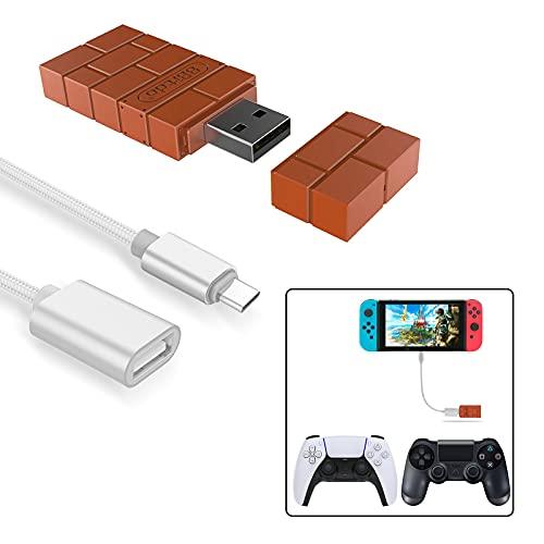8Bitdo Wireless Controller Adapter for Nintendo...