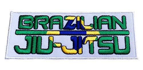 Jiu Jitsu brasileño de hierro bordado hidromorfona/placa (cm 12,7) ataque BJJ Gi insignias decorativos
