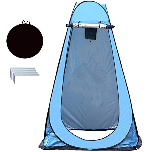 Pop Up Toilet Tent Camping Shower Privacy Tent Shower Tents For Camping 47.2x47.2x74.8in With Carrying Bag For Camping Hiking Shower Bathroom Changing Room Camp Toilet