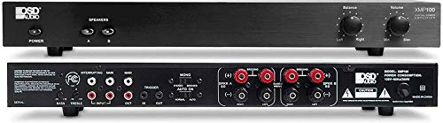 OSD Audio 150W x 2 Class D Stereo Amp – Dual Switch Source Switch System, XMP100