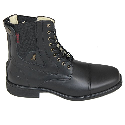Hobo Lisboa GP Carre Zip Stiefelette - black - 36