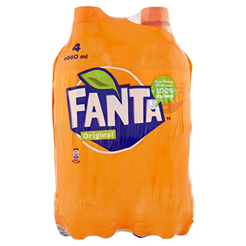 Fanta Original 660 ml - 4 bottiglie PET riciclabile