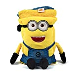 Universal Despicable Me Minions Kids Travel Pillow and Travel Blanket Set – Soft Plush Armrest Buddy Transforms Any Armrest Into a Comfy Childs Pillow for Travelling
