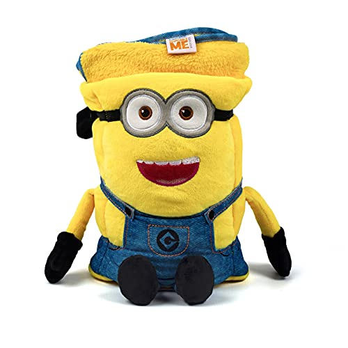Universal Despicable Me Minions Kids Travel Pillow and Travel Blanket Set...