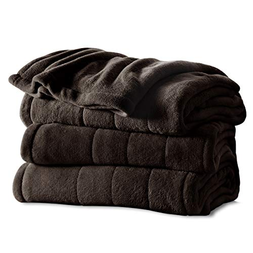 Sunbeam Heated Blanket | Microplush, 10 Heat Settings,...