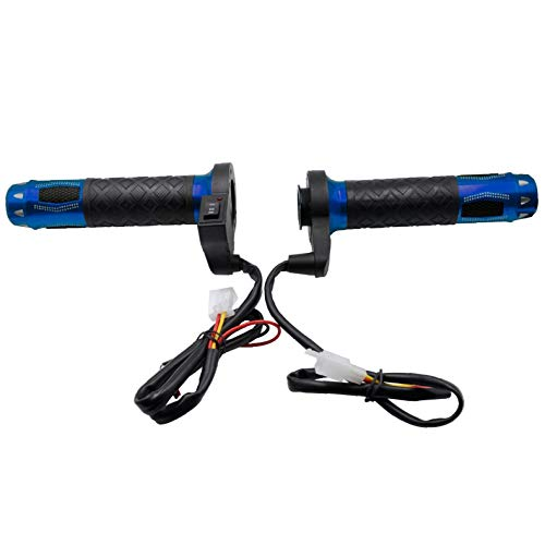 12V Motorcycle Electric Heated Grips Motorbike Hot Grip ATV Scooter 22mm...