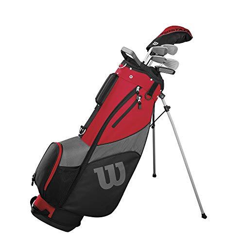 Wilson Herren PRO Staff SGI STL MRH 1/2 Set Golfschläger, Mehrfarben