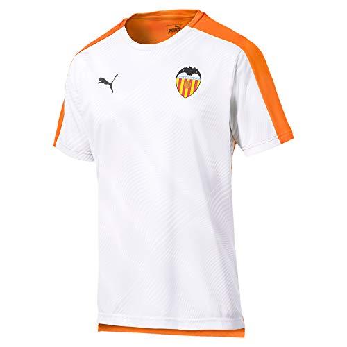 Puma Valencia CF Temporada 2020/21-Stadium Jersey Camiseta, Unisex, Vibrant Orange White, M