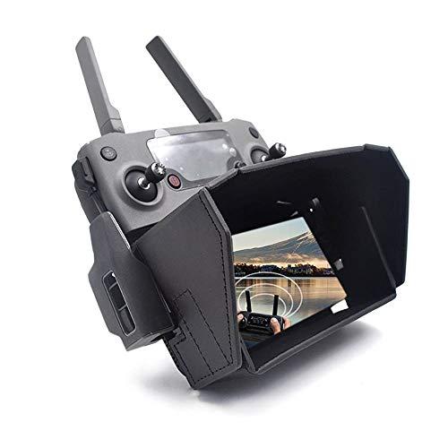 Goolsky- Compatible con dji Mavic Mini Mavic Air Mavic Pro Spark Drone Control Remoto Sun Shade Hood para Teléfono Móvil Android iOS 4.7-5.5IN
