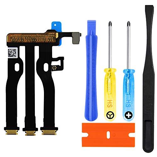 MMOBIEL Kit de Reemplazo Conector Cable Flex LCD Compatible con Apple Watch Series 5 44mm GPS y GPS + Cellular Edition