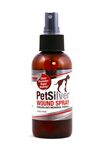 PetSilver Wound Spray with Chelated Silver, Made in USA, Vet...