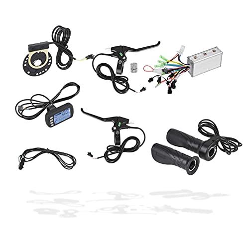 DAUERHAFT Controlador de Motor de Scooter, Kit de Controlador sin escobillas de 24 V / 36 V para Motores eléctricos, para Scooters eléctricos de Bicicleta eléctrica