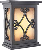 Craftmade ICH1515-BK Illuminated Chime System Hand-Carved Scroll Lighted LED Door Chime, B...
