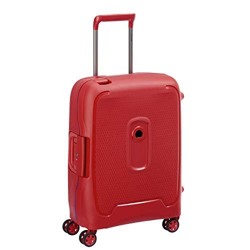 DELSEY Paris Moncey Maleta, 55 cm, 41 Liters, Rojo (Rouge Etoiles)