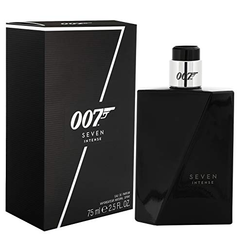 2x James Bond 007 Seven Intense Eau De Parfum je 75 ml for man holzig süßer Duft