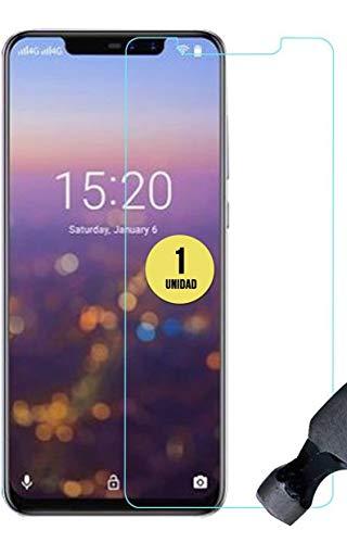 case & glass 1 Unidad de Protector de Pantalla Premium 2.5D Cristal Vidrio Templado 9H para UMI Umidigi Z2
