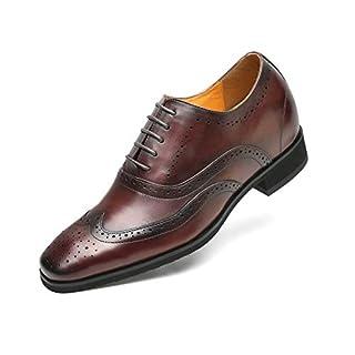 CHAMARIPA Business-Schuhe, Rotbraun