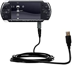 Gomadic Hot Sync and Charge Straight USB Cable for The Sony PSP-3001 Playstation Portable Slim – Charge and Data Sync with The Same Cable. Built TipExchange Technology