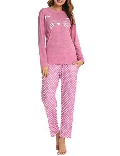 Pijama Gato Mujer  marca Aibrou