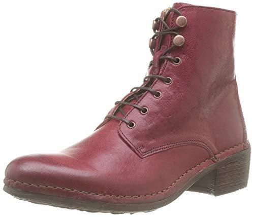 Neosens Damen Dakota Medoc Kurzschaft Stiefel, Rot (Carmin S3076), 39 EU