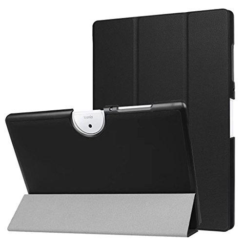Xinda Acer Iconia One 10 B3-A40 Funda - Slim Fit Folio Smart Case Funda Tablet Carcasa con Stand para Acer Iconia One 10 B3-A40 10.1 Inch Tablet,