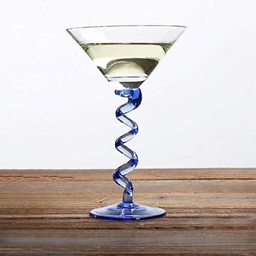 HGTZ Creativo Copa de cóctel Martini de Cristal Margaret Cristal Copa de champán de Alto Grado Drinkware Bar Party Copa de Vino