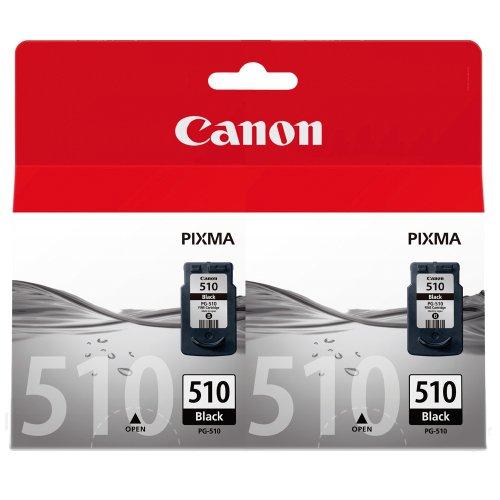Canon 510+510, 2x Original Tintenpatrone schwarz