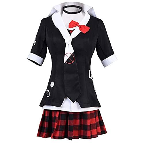 Anime Enoshima Junko - Disfraz para mujer, disfraz de marinero escolar, uniforme, traje de fiesta de Halloween, Enoshima Junko, L