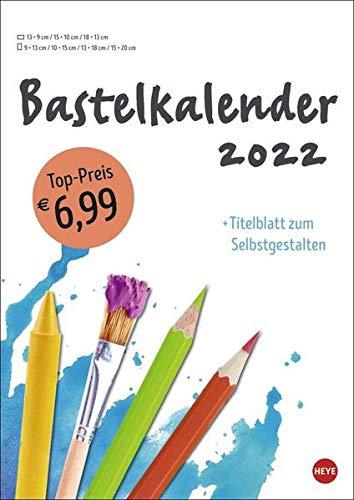 Bastelkalender weiß A4